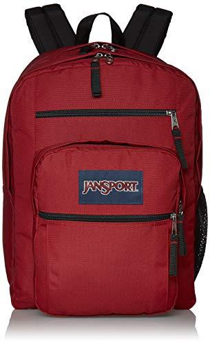 JanSport Big Student Backpack - 15-inch Laptop School Pack, Viking Red