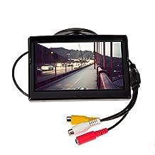 Car Overhead Screen Monitor 5 Inch Digital HD TFT LCD Display Automatic Car DVD VCD Multi-language
