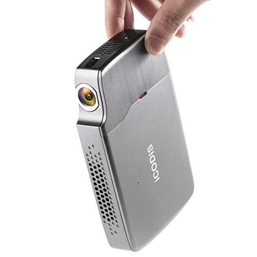 iCODIS RD-818 Mini Projector, DLP Support 1080P...