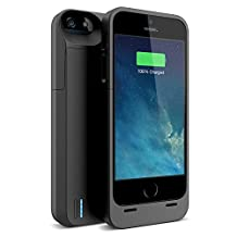 iPhone 5s Battery case , iPhone 5 Battery case , UNU DX-5 iPhone 5/5S Charger Case [Black] (Gen 2) - MFI Certified 2300mAh Charger Protective iPhone 5/5S Charging Case / Power Juice Bank Battery Pack