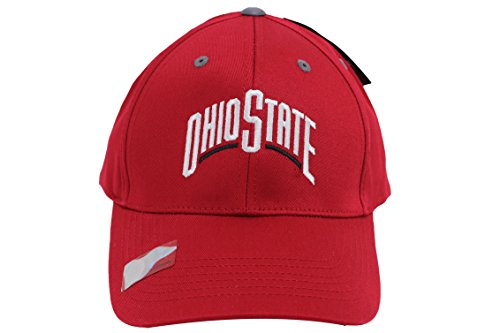 Captivating Headgear Men's Champ Fashion Ohio State Buckeyes Embroidered Cap Red
