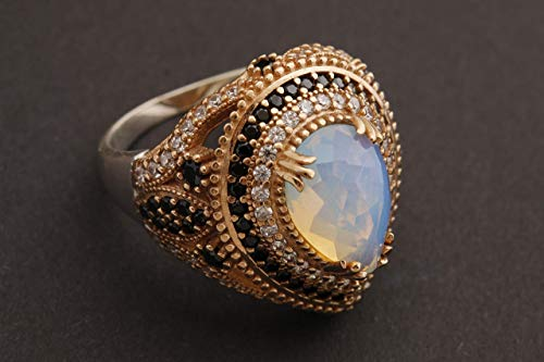 The 10 best topaz moonstone ring