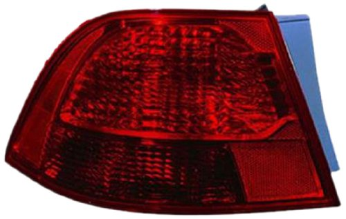 Multiple Manufacturers OE Replacement Kia Optima//Magentis Left Tail Lamp Assembly Partslink Number KI2804102