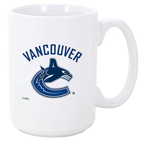 Coffee Rangers Mug (NHL Hockey Coffee & Tea Mug 15oz (Vancouver Canucks))