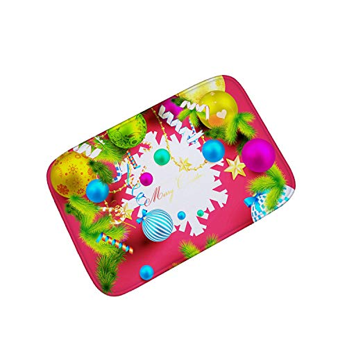 (Festival Decorations Floor Mat Funny Entrance Door Mats Outdoor for Kitchen Mat Floor Rugs Flannel Caet,03,40X60)