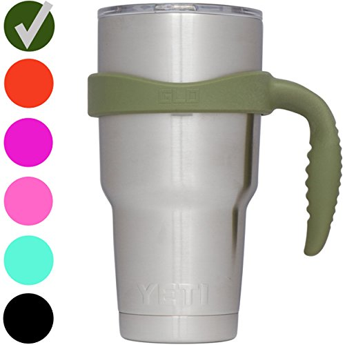 Grab Life Outdoors 30oz Tumbler Handle - Perfectly Fits 30 Oz YETI Rambler, Ozark Trail & Many More - Handle Only...