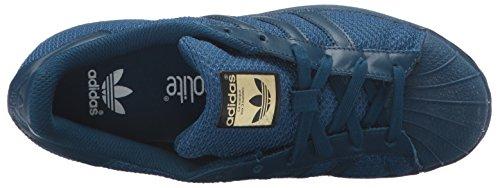 adidas Originals Kinder Superstar Sneaker (großes Kind / kleines Kind / Kleinkind / Kleinkind) Stahl / Stahl / Stahl