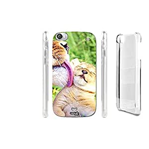 FUNDA CARCASA TIGRE KAWAII CUTE PARA WIKO DARKSIDE