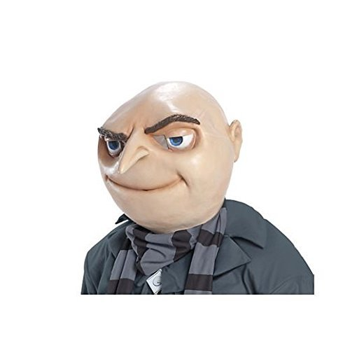 Costume Beautiful Gru Mask (Flo Halloween Costume)