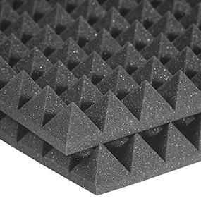 Auralex Studiofoam Pyramid (2 foot x 2 foot) - Charcoal