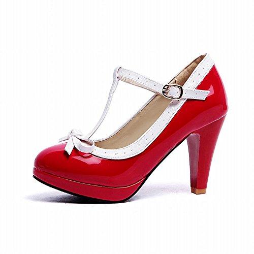 Rouge Talons Femmes MissSaSa Soirée Escarpins Hauts Y7XOSnO