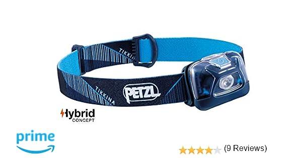 Petzl Tikkina - Linterna frontal, color azul: Amazon.es: Deportes ...