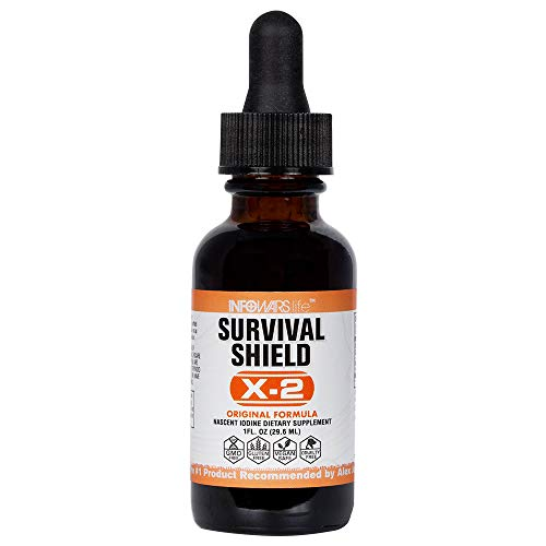 Infowars Life - Survival Shield X-2 Nascent Iodine (1 - Iodine Nascent