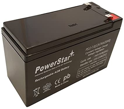 This is an AJC Brand Replacement APC 12V 7Ah UPS Battery
