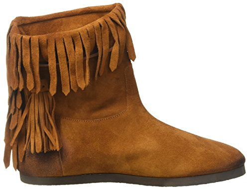 cuoio Milano Twinset Women's Boots Cs8taw Moccasin Marrone gA06f0wq
