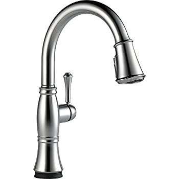 Delta Faucet Cassidy Single-Handle Touch Kitchen Sink