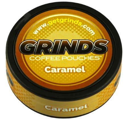 Grinds - Juego de 6 bolsas de café, caramelo, sin tabaco ...