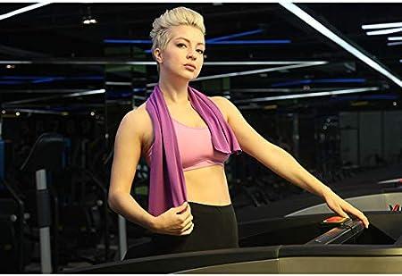 Gshy Serviette Rafra/îchissante pour Sports Drap de Bain pour Voyage et Fitness S/échage Rapide Plage pour Femme Homme et Enfants Entra/înement Fitness Gymnase Yoga Pilates Voyages Camping