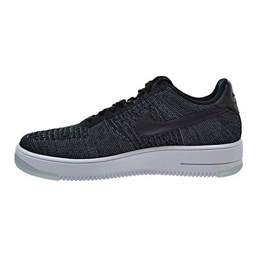 Nike Herren AF1 Ultra Flyknit Low Basketballschuh Schwarz / Dunkelgrau / Weiß