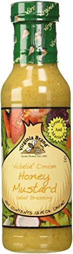 Virginia Brand Vidalia Onion Honey Mustard, 12-Ounce (Pac...