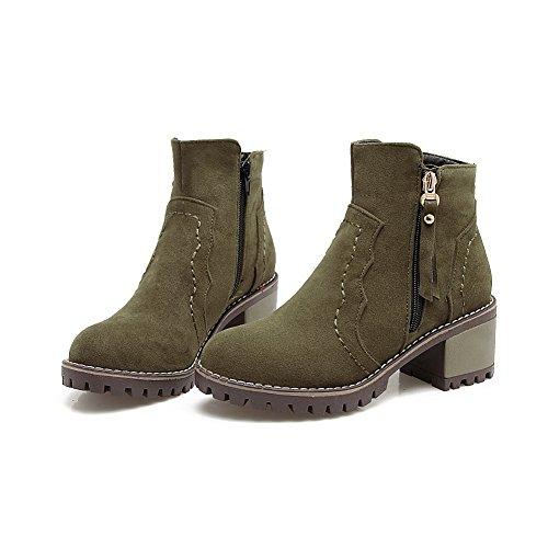 BalaMasa  Abl09714, Plateforme femme - Vert - vert militaire,