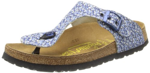 Papillio Women's Papillio Gizeh Liberty Flat,Pepper/Blue,36 EU/5-5.5 M US