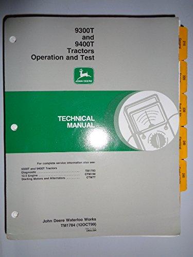 John Deere Operation Manual - 2