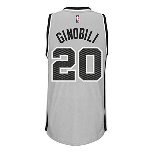 3c76e87d8 NBA Men s Manu Ginobili San Antonio Spurs Climacool Gray Alternate Swingman  Jersey 7470 - Buy Online in UAE.