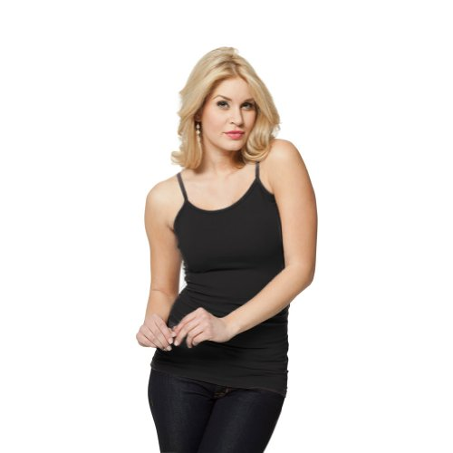 Modbod Casual Fashion Camisole - Extra Length - Layering or Slimming Fit (Length Camisole)