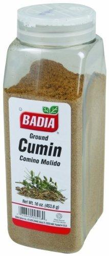 Badia Ground Cumin Seed Spice, 16 Ounce - 6 per case.