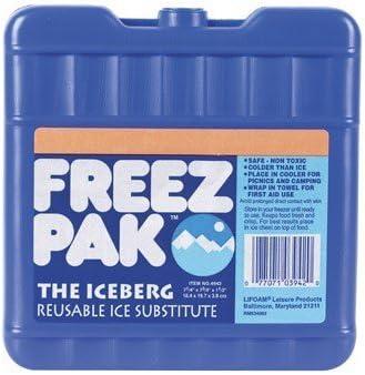 Lifoam Industries, Llc 4942 7-1/4 X 7-1/2 X 1-1/2 Iceberg Freeze Pack by Lifoam: Amazon.es: Deportes y aire libre