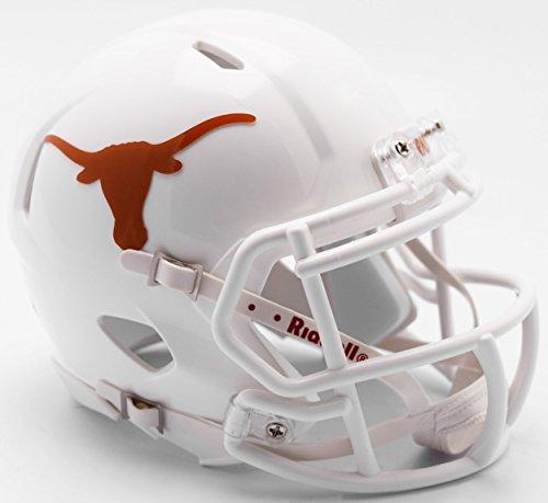 Texas Helmet Football (Texas Longhorns Helmet Riddell Replica Mini Speed Style 2017 Design)