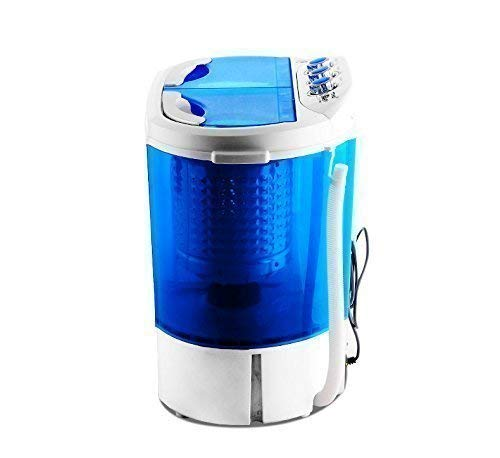 NEW TWIN TUB MINI PORTABLE 230V WASHING MACHINE FOR OUTDOOR GARDEN CAMPING...