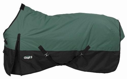 (Tough 1 600 Denier Waterproof Horse Sheet, Hunter Green, 69-Inch )