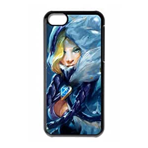 iphone5c Black phone case crystal maiden Dota 2 DOT5918717