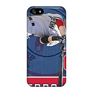 High Quality Jamesler Boston Red Sox Skin Specially Designed For Iphone - 5/5s