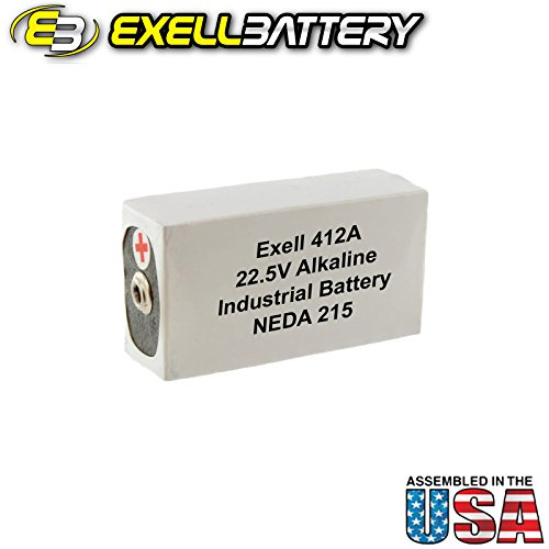 - Exell Battery 412A for AVO Meters, Vintage Transistor Testers, Regency TR-1