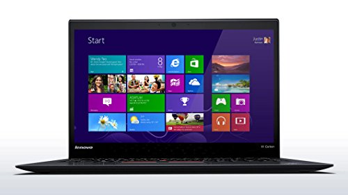 "Lenovo ThinkPad X1 Carbon 3rd Generation (20BS) 2015 Premium Business Ultrabook - Core i5-5300U, 256GB Premium SSD, 8GB RAM, Premium 14.0"" FHD (1920 x 1080) Anti-Glare Display, 720p HD Webcam, Intel AC-7265 WiFi, Bluetooth, Fingerprint Reader, Backlit Keyboard, Windows 7 Professonal 64-bit"