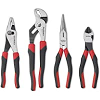 GEARWRENCH 4 Pc. Plier Set, Mixed Dual Material - 82103