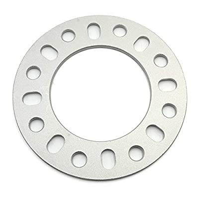 LU HWN 4X4 6mm Universal Wheel Spacers, 1/4 inch Thick Wheel Spacer Fit with 8x6.5 (8x165.1mm) 8x170mm 8x180mm Set of 4: Automotive