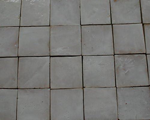 Bejmat sand beige Cotto Ziegel Bejmat Zelliges Bodenplatte Bodenfliesen Fliese 20Stk