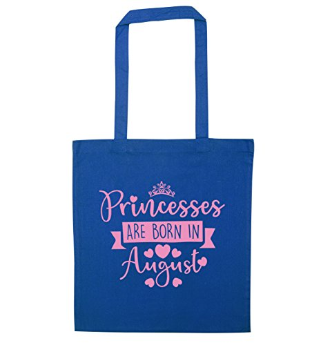 Tote Creative in Princesses Flox Blue Born August are Bag B5wdxzqA