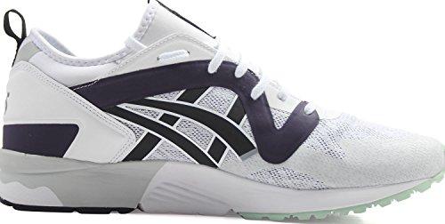 V Sneakers Lyte Mens Gel White Black NS Asics Tiger 7Uaq41x