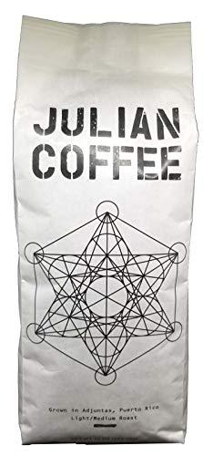 (Julian Coffee - Specialty Puerto Rican Coffee, Shade Grown On A Family Farm, Single Origin, Light Medium Roast, 10 oz Bag (Whole Bean))
