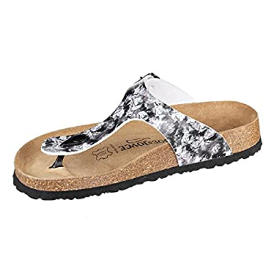 JOE N JOYCE Rio SynSoft Soft-Footbed Sandales Hammertone