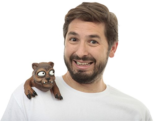 Brown Werewolf Halloween Shoulder Buddy Costume Accessory ()