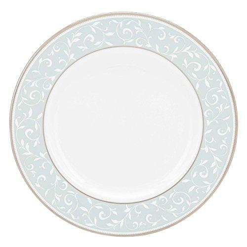 Opal Salad Plate - Lenox Opal Innocence Blue Salad Plate, White