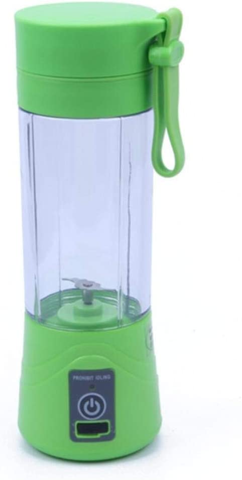 Lili USB exprimidor licuadora Botella portátil 2/4/6 Cuchillas ...