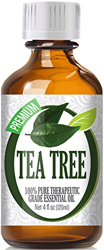 Tea Tree Essential Oil - 100% Pure Therapeutic Grade Tea Tree Oil - 120ml by Healing Solutions