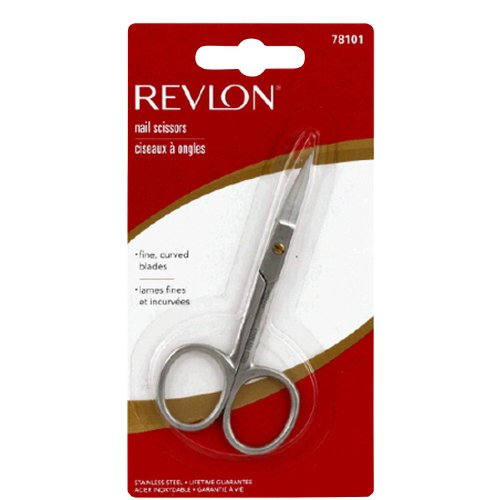 Rev Nail Scissor Size 1ea Revlon Nail Scissor